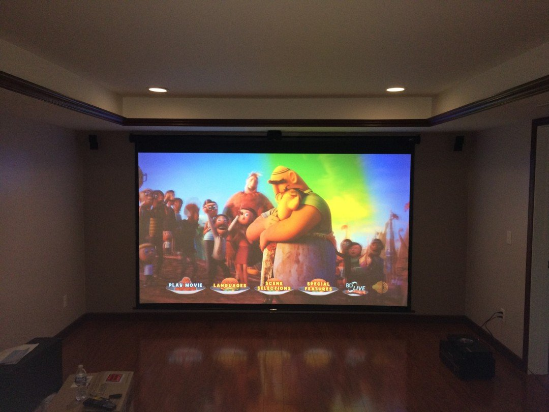 Home Theater Space In Maple Grove Mn Serenity Av